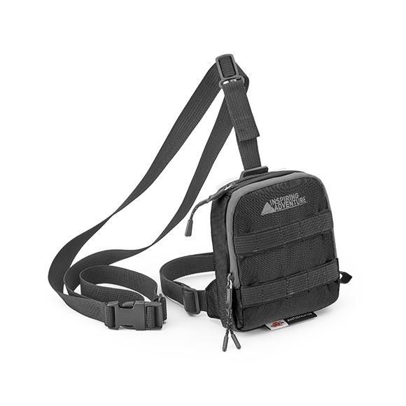 Kappa RA307R2 nožna torbica črna