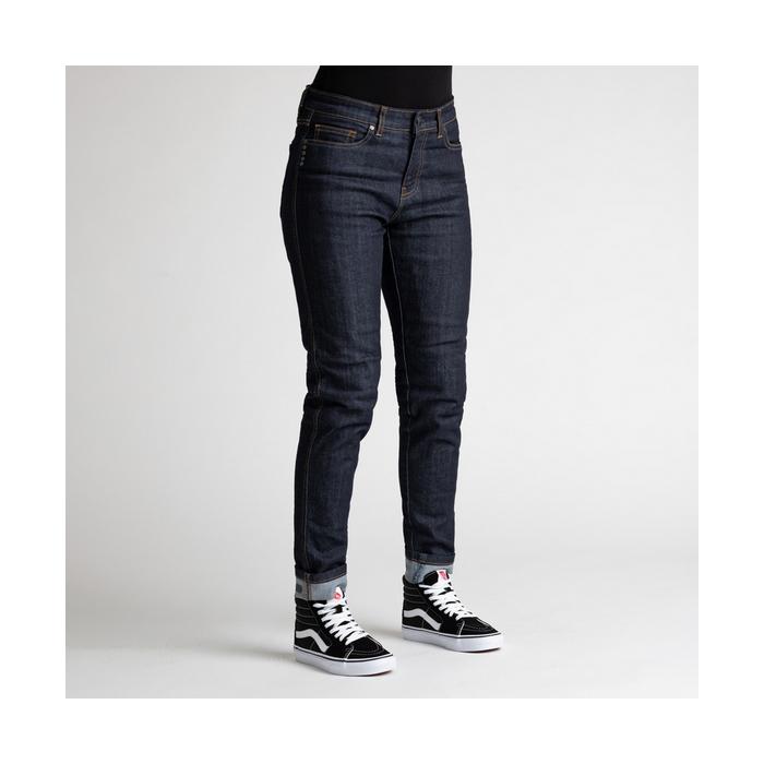Broger California ženske jeans hlače Raw Navy